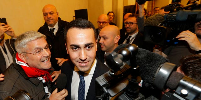 """Luigi Di Maio announced triumphantly on Monday that """"the Citizens' Republic"""" starts right now. The only thing is—he is not Prime Minister.  He came out No. 1 in Sunday's election, but Italy's vote has resulted in a hung Parliament. Di Maio's Five Star Movement got 32 percent of the vote. But that is not enough to form a government."""