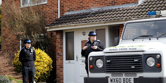 Police are probing the possibility that Sergei Skripal and his daughter may have come in contact with the nerve agent inside his home.