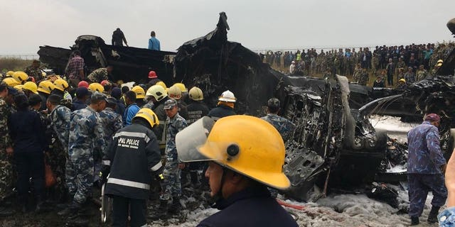The plane was reportedly carrying 67 passengers and four crew members.