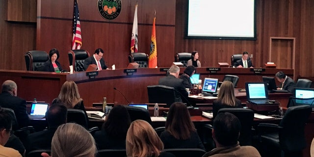 The Orange County Board of Supervisors met in March and decided to join the Justice Department's lawsuit against California.