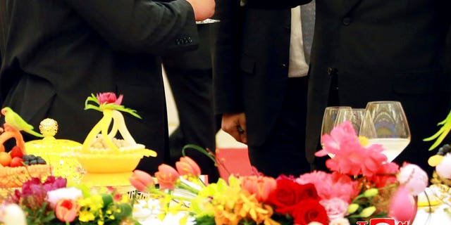 Xi Jinping and Kim Jong Un meet for the first time since the despot took power in 2011.
