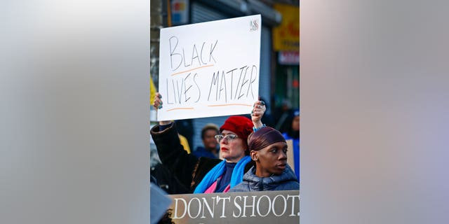 Protesters quickly blamed the police and said the officer-involved shooting was unnecessary.
