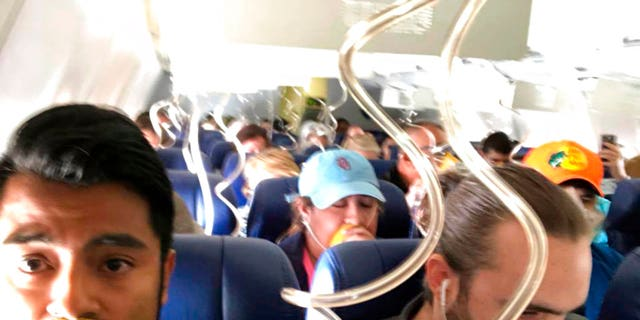 Southwest Flight 1380 made an emergency landing in Philadelphia when one of the engines blew, shattering a window and sending a passenger party out of the plane.
