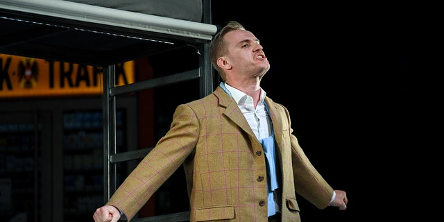 """The Konstanz Theater's production of George Tabori's """"Mein Kampf"""" opens Friday night for a monthlong run"""