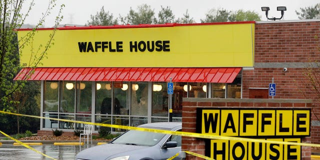 Four people were killed in the Waffle House on Sunday.