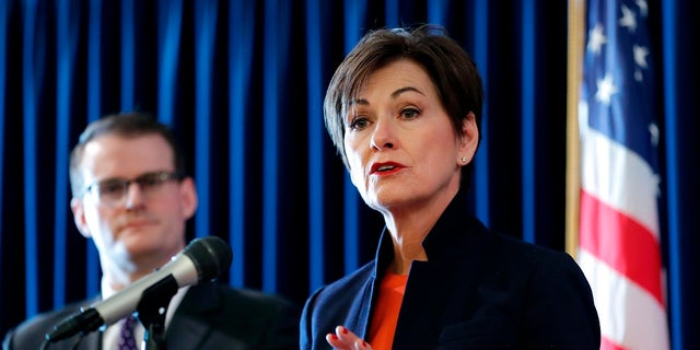 Iowa Gov. Kim Reynolds has not said whether or not she plans to sign the bill into law. (Associated Press)