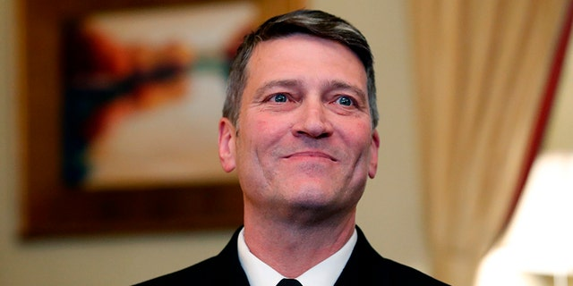 Dr. Ronny Jackson withdrew his name from consideration to lead the Department of Veterans Affairs on Thursday.