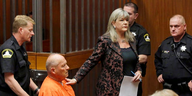 """Joseph James DeAngelo, 72, who authorities suspect is the """"Golden State Killer"""" responsible for at least a dozen murders and 50 rapes in the 1970s and 80s, appeared in court Friday."""