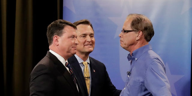 Todd Rokita, Luke Messer and Mike Braun have been locked in a volatile and contentious primary for the Republican nomination for Senate in Indiana.