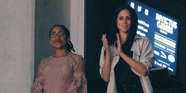 Markle and her mother are set to spend the night at the posh mansion turned hotel.