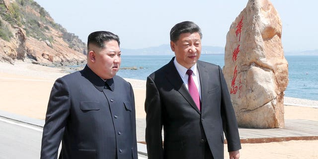 Kim Jong Un and Xi Jinping met on Monday and Tuesday.