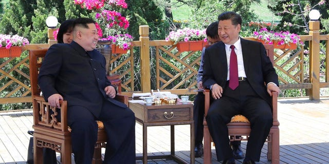 North Korean leader Kim Jong Un and Chinese President Xi Jinping met recently in China.