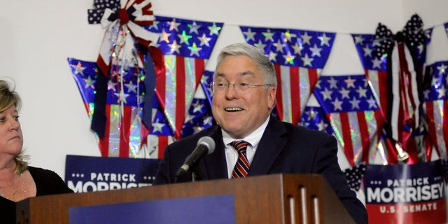 West Virginia Attorney General Patrick Morrisey (above) endured a bruising GOP primary against Rep. Evan Jenkins, R-W.Va., and former coal baron Don Blankenship, before his match-up with Manchin.
