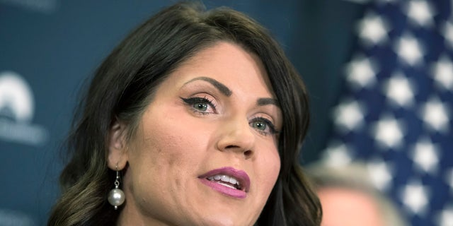 Rep. Kristi Noem's win makes her the first female governor in South Dakota.