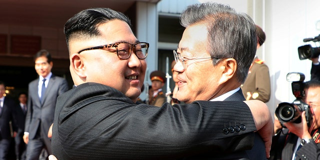 North Korean leader Kim Jong Un and South Korean President Moon Jae-in meet for the second time in a month.