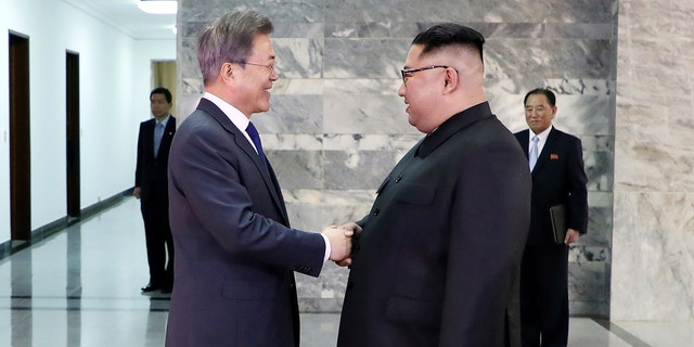 Kim and Moon have met for the second time in a month to discuss peace commitments they reached in their first summit and Kim's potential meeting with President Donald Trump.