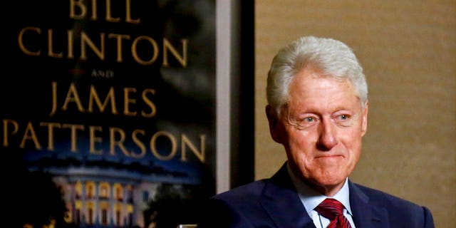 During an interview about a novel he wrote with James Patterson, former President Bill Clinton said on Monday that he hasn't directly apologized to former White House intern Monica Lewinsky.