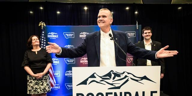 Montana state auditor Matt Rosendale won the GOP nomination for U.S. Senate. He will face endangered incumbent Sen. Jon Tester, a Democrat, in the fall.