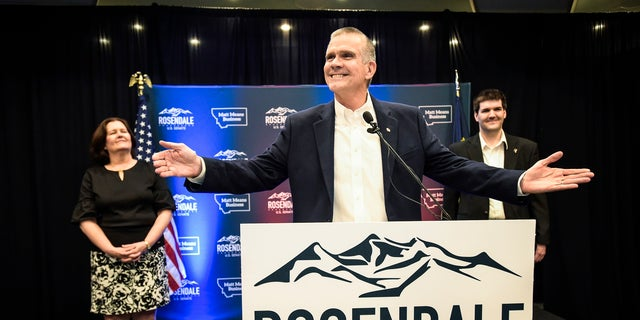 Montana state auditor Matt Rosendale won the GOP nomination for U.S. Senate. He will face endangered incumbent Sen. Jon Tester, a Democrat, in the fall.