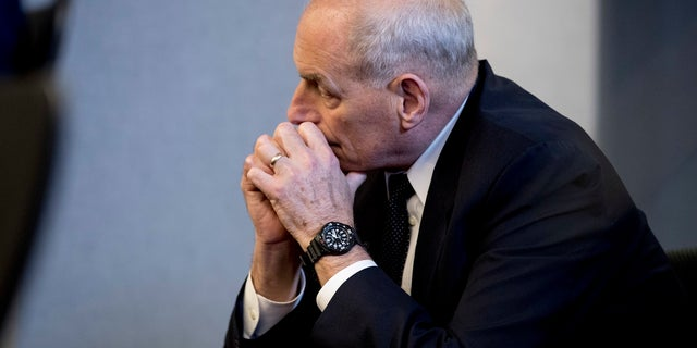 White House chief of staff John Kelly is in Singapore with the U.S. delegation.