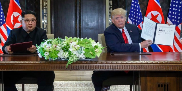 President Trump and North Korean leader Kim Jong Un signed an agreement for the recovery of the remains of American soldiers as well as the immediate repatriation of those who have already been identified.