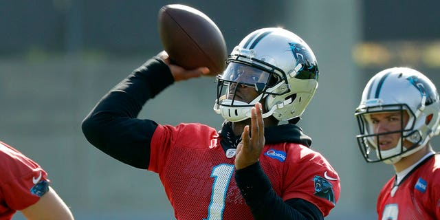 Newton appeared to react badly to being mocked for his poor performance during the Panthers' 24-10 Super Bowl loss to the Denver Broncos.