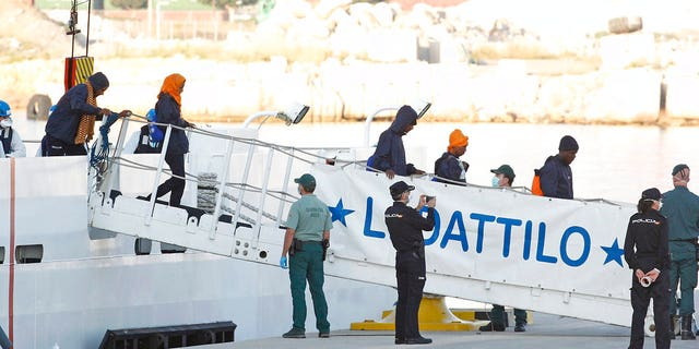The migrants were rejected by Italy and Malta in the Mediterranean and were diverted to Spain after the Socialist government of new Prime Minister Pedro Sanchez stepped up and offered the Aquarius safe harbor.
