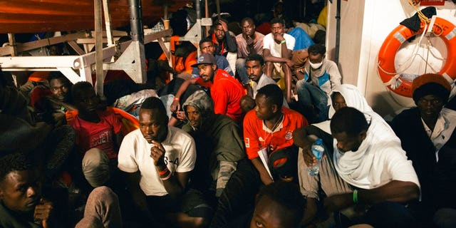 The breakthrough came after a group of five European lawmakers – three Germans, one Spaniard and one Portuguese – spent hours on board the ship Lifeline on Sunday night negotiating with Italian and Maltese authorities for permission to dock