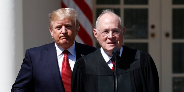 President Trump will select the replacement for Justice Kennedy.