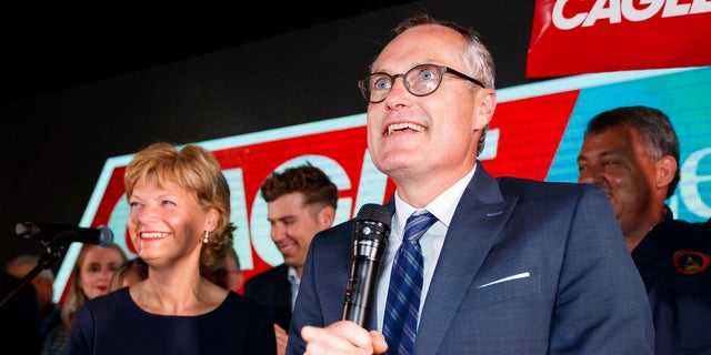 """Republican candidate for Georgia Gov. Casey Cagle beat out three other opponents and forced a runoff with Georgia Secretary of State Brian Kemp for the GOP nomination for governor. In a secret recording released by the Kemp campaign, Cagle said the primary election was a race for """"who could be the craziest."""""""