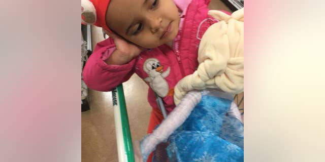 Ruya Kadir, 3, died Saturday after she was stabbed at her birthday party.