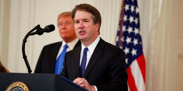 "President Trump on Monday night said ""no one in American is more qualified"" than Judge Brett Kavanaugh for the vacant seat on the Supreme Court bench."