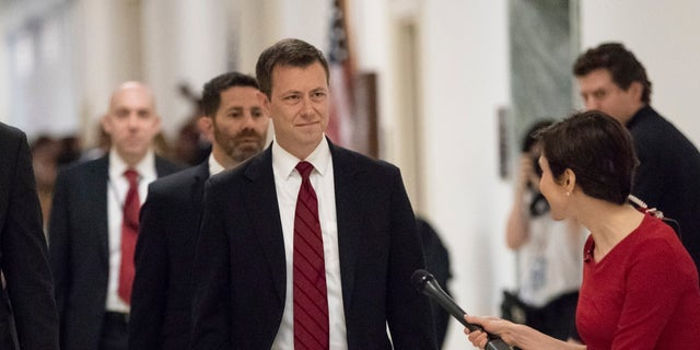 Peter Strzok exchanged anti-Trump text messages with Lisa Page.