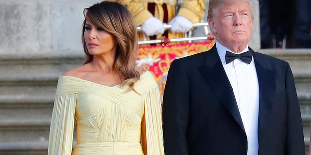 Melania Trump Praised For J Mendel Gown She Looks Like A Princess
