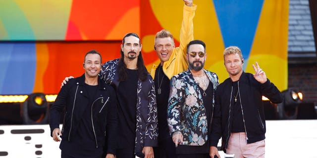 Backstreet Boys member Howie Dorough, left, was a victim of identity theft.
