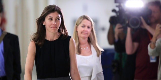 Former FBI lawyer Lisa Page left the FBI in May 2018.