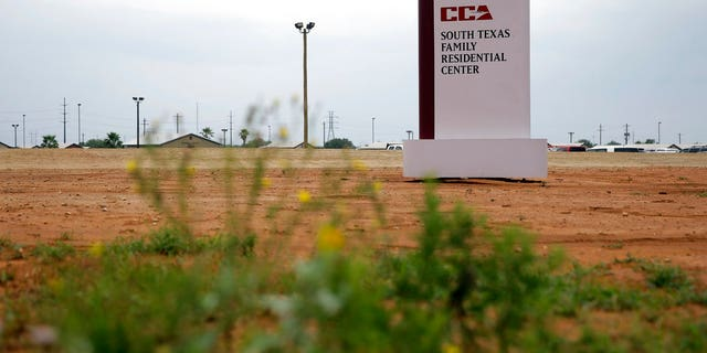 The story spread beginning July 31 when an immigration lawyer claimed that an infant died in the ICE facility in Dilley, Texas (pictured); she subsequently clarified that the child died shortly after leaving the facility