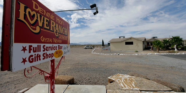Officials said Dennis Hof failed to renew the license and pay the fees for his Love Ranch brothel in Crystal, Nevada.