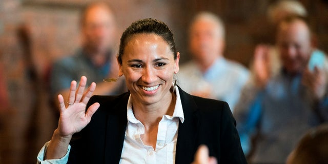 Sharice Davids started a podcast with her brother to highlight entrepreneurs in Kansas City.