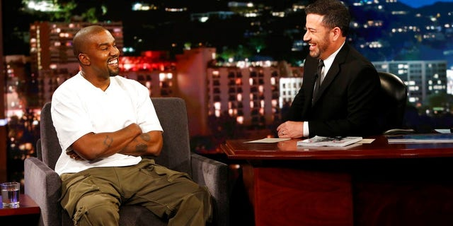 Jimmy Kimmel asked Kanye West why the rapper thought President Trump cared about black people when he had him on.