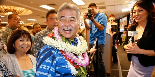 David Ige overcame fierce criticism for his administration's false missile alert earlier this year, which led to accusations of widespread government incompetence in the state.