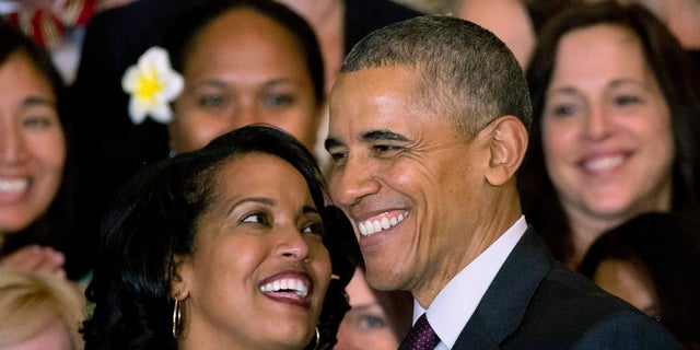President Barack Obama awarded Jahana Hayes the 2016 National Teacher of the Year award.