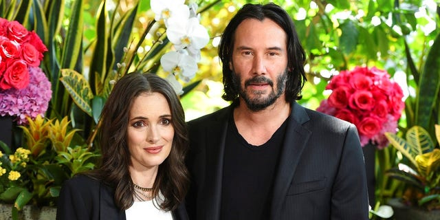 "Winona Ryder said she and Keanu Reeves may be married in real life after a Romanian priest performed the ceremony in the ""Dracula"" scene."