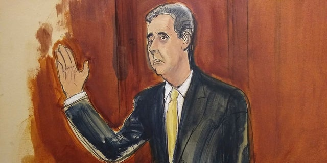 """Michael Cohen, the personal lawyer and """"fixer"""" who once said he would """"take a bullet"""" for Donald Trump, struck a deal with prosecutors to plead guilty Tuesday to charges including campaign finance fraud, bank fraud and tax evasion. Cohen stated that he and Trump arranged the payment of hush money to porn star Stormy Daniels and a former Playboy model to influence the election."""