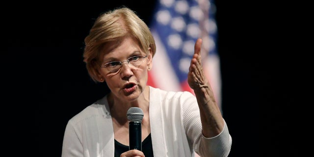 There are three Republicans hoping for the chance to unseat Sen. Elizabeth Warren, a Democrat.