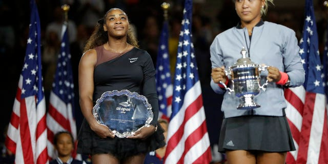 Naomi Osaka, right, defeated Williams in the U.S. Open final.