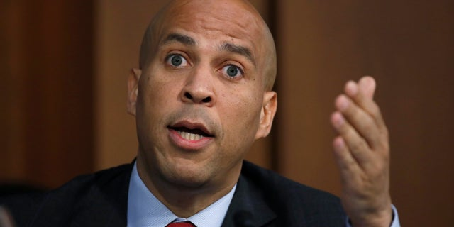 New Jersey Sen. Cory Booker announced his bid for the presidency on Feb. 1, 2019.