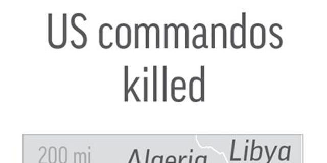 NIGER COMMANDOS 100517: Map locates Niamey, Niger, where 3 US commandos were killed.