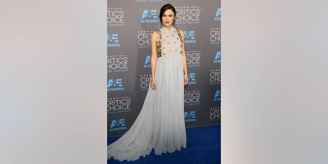 Keira Knightley at the 2015 Critics Choice Awards in Los Angeles.