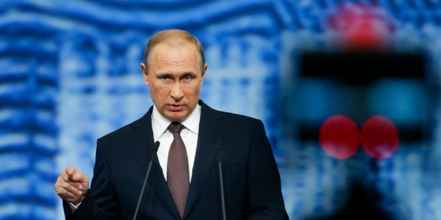 Russian President Vladimir Putin on Friday.